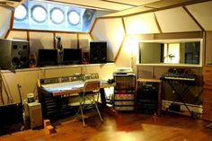 Lightship95 Recording Studio   Miloco Recording Studios - Ship recording studio