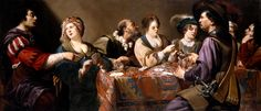 Rombouts, Theodoor (b,1597)- Card Players