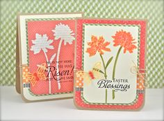 Easter Blessings Silhouettes by tayloredexpressions - Cards and Paper Crafts at Splitcoaststampers
