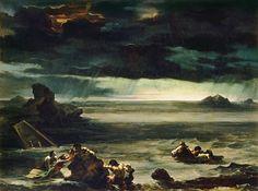 gerucault scene de deluge