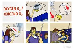 Boeing Oxygen Mask Safety - Secure your own mask first before helping others