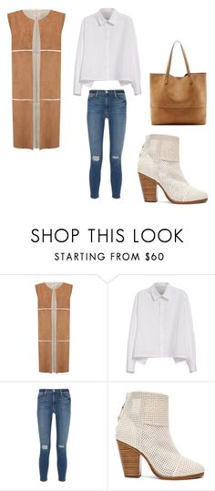 """""""Untitled #69"""" by jelennak ❤ liked on Polyvore featuring Nümph, Y's by Yohji Yamamoto, Frame Denim, rag & bone and Sole Society"""