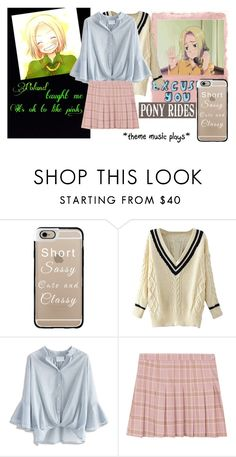 """""""Hetalia: Poland"""" by cute-but-psycho-123 ❤ liked on Polyvore featuring Rothko, Casetify and Chicwish"""