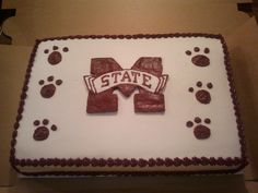 10 Best Mississippi State Cake images in 2016 | Birthday ideas ...