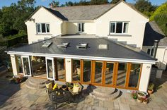 A conservatory from Everest is guaranteed against fogging, condensation and discolouration. Our conservatories are built to last. Tiled Conservatory Roof, Modern Conservatory, Pergola Plans, Diy Pergola, Pergola Kits, Bungalow Extensions, House Extensions, Conservatories For Sale, Roof Extension