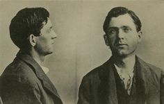 LEON CZOLGOSZ  Leon Czolgosz, after shooting President McKinley. Unknown police photographer, 1901.  (1873-1901) Assassinated President William McKinley during a public reception at the temple music pavilion at the Pan-American Exposition, Buffalo, New York, September 6, 1901.