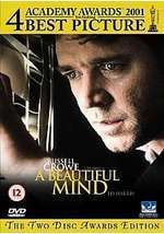Director Ron Howard delivers A BEAUTIFUL MIND, which won the Academy Award for Best Picture in 2001