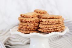 Healthy Cake, Good Healthy Recipes, Healthy Sweets, Healthy Baking, Paleo Cookies, No Bake Cookies, Cookie Recipes, Sugar Free Recipes, Gluten Free Recipes