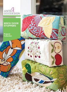 Anita Goodesign | Brick Door Stoppers