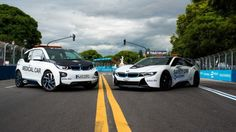 #BMW will enter electric #Formula_E race series next year with a newly-developed #BMW_drivetrain.