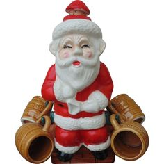 Vintage Christmas Santas On Pinterest Vintage Santas