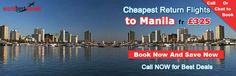 Fly from London to Manila on China Southern from £325, Air China from £335, Kuwait Airways from £375... Search and find deals on flights to Manila.  Make An Enquiry on :- +44-0208-133-0907   http://worldbesttravels.com/