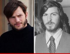 #Ashton Kutcher as #Steve Jobs