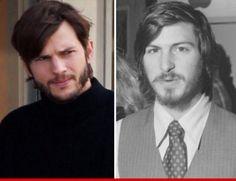 #Ashton Kutcher as #Steve Jobs