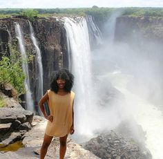 """7,391 Likes, 42 Comments - Travel Noire (@travelnoire) on Instagram: """"Inspiring. @_judithmeyer // Victoria Falls, Zambia. #travelnoire #victoriafalls #thisisafrica"""""""