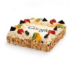 Verras iedereen met deze overheerlijke slagroomtaart en laat 'm met je logo erop bezorgen in heel Nederland. Zachte cake, romige slagroom en een frisse, fruitige vulling maken deze taart tot een waar feest. Vanaf 10 personen, vandaag besteld, morgen geleverd!