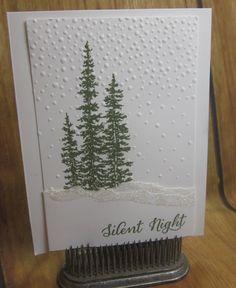 Stampin' Up!, by Laura Milligan, Wonderland, Softly Falling, DIY Crafts,paper crafts, DIY handmade Christmas cards. Sunday Swap Day on my blog:http://www.carolpaynestamps.com/2015/11/stampin-up-sunday-snowy-swap-day.html