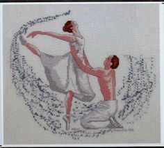 Dancers from Kulik Kreations  Cross Stitch by GoldenThreadSupplies, $8.00