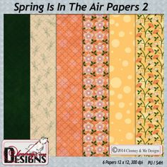 Spring Is In The Air Papers 2