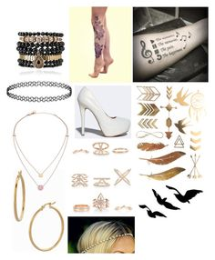 """""""HVCML accessories"""" by creative-with-fashion ❤ liked on Polyvore featuring Qupid, New Look, Samantha Wills, Bony Levy and Michael Kors"""