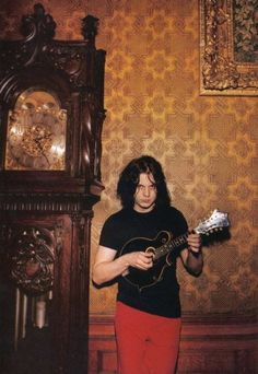 Oh, and another one of my boyfriends. Gotta love a creepy man with a mandolin. <3