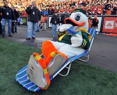 Mascots of the Pac-10 - Photos