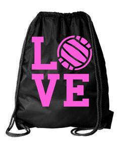 Gym Bag Nylon PCS Drawstring Bag or other sizes Ac Volleyball Gear, Volleyball Outfits, Volleyball Players, Volleyball Equipment, Volleyball Sweatshirts, Athletic Gear, Netball, Spirit Wear, Cotton Drawstring Bags