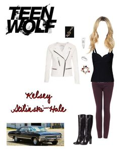 """Kelsey Stilinski-Hale: ""The Sword and the Spirit"" & ""Amplification"""" by nerdbucket ❤ liked on Polyvore featuring Topshop, Hervé Léger, IRO, Forever 21, Brooks Brothers, Burberry and Ice"