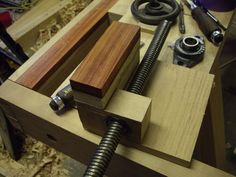 Workbench Build #30: Wagon Vise Build is a Go Finally.. - by ...