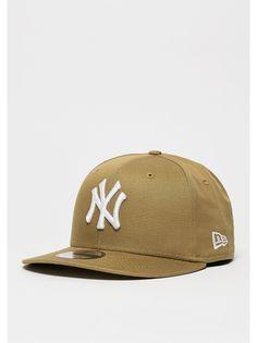 256112203d8 New Era Snapback-Cap League Essential MLB New York Yankees wheat New Era  Snapback