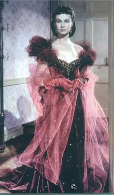 Scarlett O'Hara...from my favorite book and movie