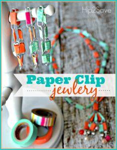 Paper Clip Jewelry (Fun Summer BreakCraft)