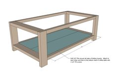 Ana white rustic x coffee table diy projects plant break alarm timers plains shop huron sd Diy Coffee Table Plans, End Table Plans, X Coffee Table, Solid Wood Coffee Table, Rustic Coffee Tables, Coffee Table Blueprints, Coffee Cups, Diy Furniture Plans, Woodworking Furniture