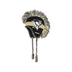 Youth Reebok Pittsburgh Penguins Mohawk Knit Cap, Boy's, Black