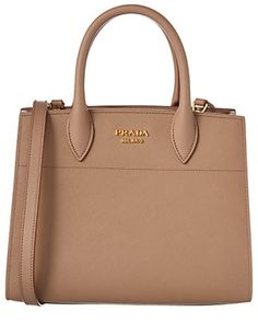 28831817823e Prada Bibliotheque Saffiano   Calf Leather Satchel Beige Purses