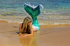 Mermaid Photography Art  Real Mermaid  by FromPARADISEwithLOVE, $10.00