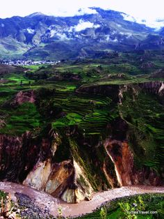 Colca Canyon, Peru. Second deepest canyon in the world, and we hiked it.