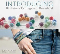 Available January 1st! www.touchstonecrystal.com/rekosh Earrings: $37 each Bracelets: $29 each #TCsparkle #swarovski #jewelry