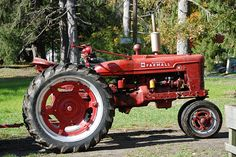 red ride I've worked with one of these many years ago on a dairy farm.