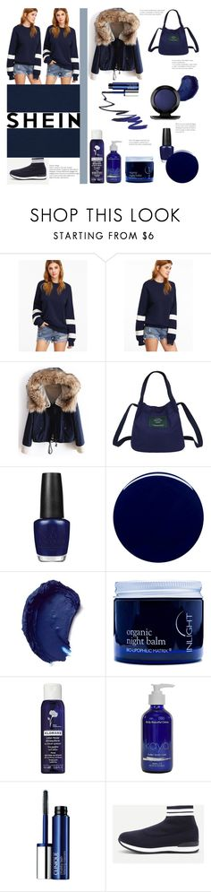 """""""Shein contest"""" by maria-notte ❤ liked on Polyvore featuring OPI, Nails Inc., Bobbi Brown Cosmetics, Inlight Skincare, Klorane, KAYO, Clinique and John Lewis"""