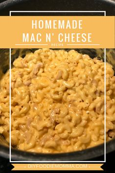 Block Velveeta Cheese Homemade Creamy and Cheesy Mac n' Cheese recipe. Ready to serve in about 30 minutes! Uses shredded and block Velveeta Cheese. Homemade Mac And Cheese Recipe Velveeta, Cheesy Mac N Cheese Recipe, Crockpot Mac N Cheese Recipe, Mac And Cheese Sauce, Stovetop Mac And Cheese, Creamy Macaroni And Cheese, Making Mac And Cheese, Easy Baked Mac And Cheese Recipe With Velveeta, Recipes