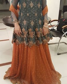 Shadi Dresses, Pakistani Formal Dresses, Pakistani Fashion Casual, Pakistani Wedding Outfits, Pakistani Dress Design, Pakistani Wedding Dresses, Indian Dresses, Frock Fashion, Fashion Dresses