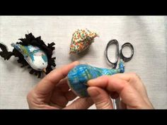 A demonstration of embroidering the eyes for my merry wobbler sewing pattern - it's a handy trick for hiding your knots. You can find the pattern here: https...