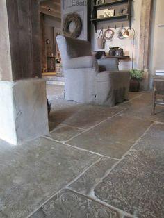 verschillende typen stenen: Dallen, Loft en Bricks
