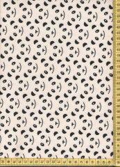 Panda - úplet oděvní látka