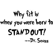 Stand for something meaningful, and never conform to someone else's standards if does not feel right in your heart.  ♥