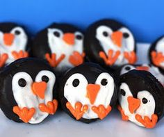 Easy Oreo Penguins