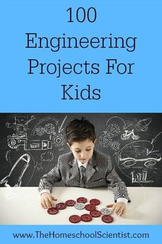 This excellent list of 100 FREE Engineering Projects for Kids features free…