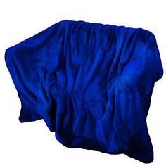 Luxury Mink Faux Fur Throw Blanket Royal Blue Single, Double, King Bed Sofa in Home, Furniture & DIY,Bedding,Blankets | eBay