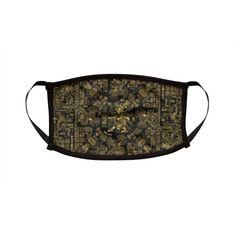 Mayan Spring GOLD | Grandio Design Artist Shop Mask Design, Face Masks, Spring, Artist, Online Shopping, Gold, Women, Facial Masks, Net Shopping